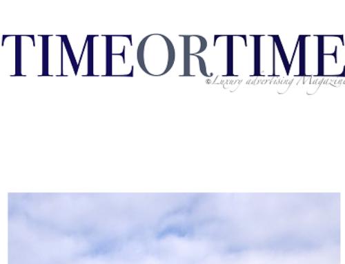 Timeortime, il luxury magazine che parla di solidarietà