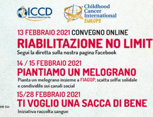 15 febbraio: nella giornata contro il Cancro Infantile tanti eventi per informarsi e schierarsi al fianco dei bimbi malati