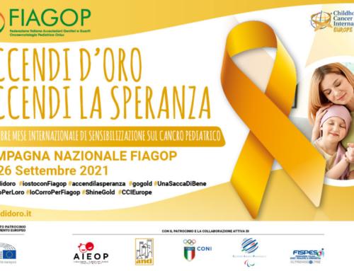 Oncoematologia pediatrica, campagna di sensibilizzazione FIagop